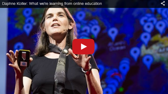 Daphne Koller shares what Coursera is learning from online education