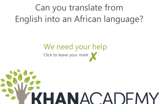 Adding language subtitles on Khan Academy Videos