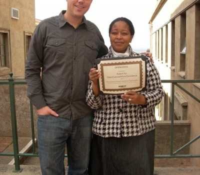 UCT open educational resource wins 2011 Award for OpenCourseWare Excellence
