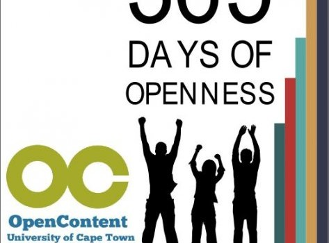 Join us to celebrate UCT OpenContent…One Year On