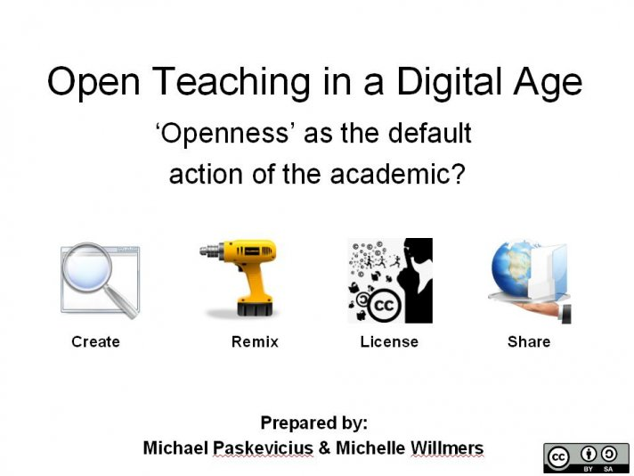 Open Teaching in a Digital Age v3