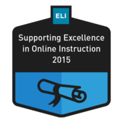 ELI Course: Supporting Excellence in Online Instruction
